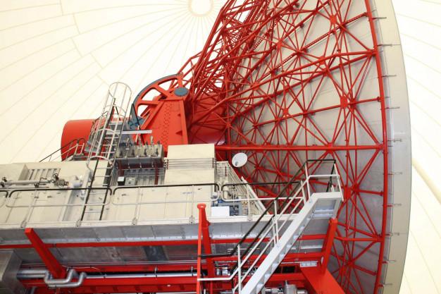Die Große Antenne im Radom, Raisting